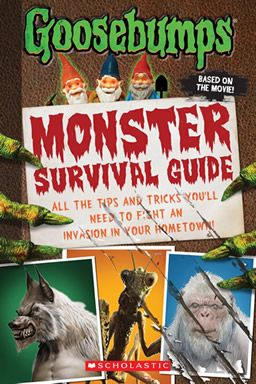 Goosebumps Monster Survival Guide by author Susan Lurie